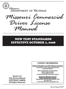 missouri commercial driver license manual the girards law firm rh girardslaw com Arizona Drivers License CDL Classes in Missouri