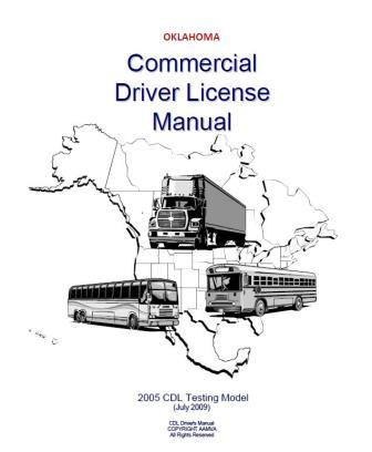 Oklahoma Commercial Driver License Manual