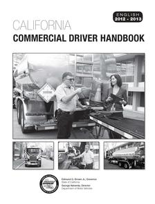 california commercial driver handbook 2017 audio