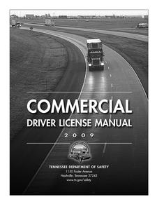 Tennessee Commercial Drivers Manual