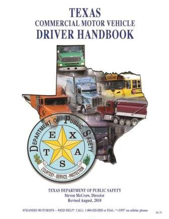 Texas Commercial Drivers License Manual